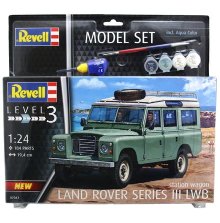 Revell Land Rover Series III LWB, Modell-kit
