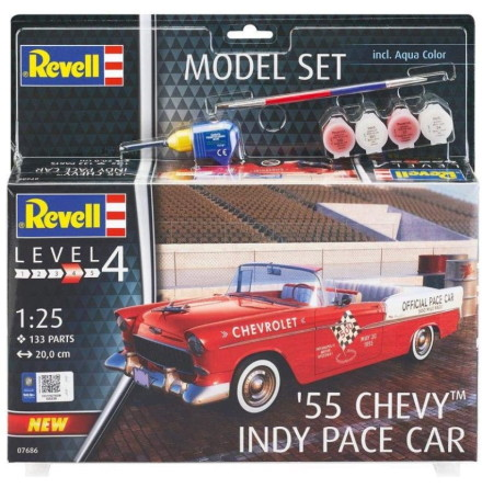 Revell 55 Chevy Indy Pace Care, Modell-kit