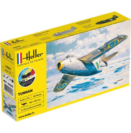 Heller SAAB 29 Tunnan, Modell-Kit