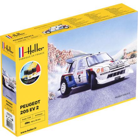 Heller Peugeot 205 EV 2, Modell-Kit