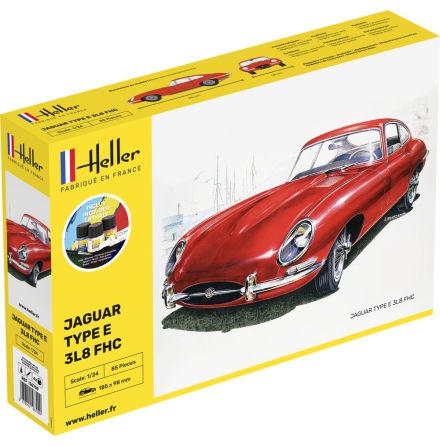 Heller Jaguar Type E 3L8 FHC, Modell-Kit