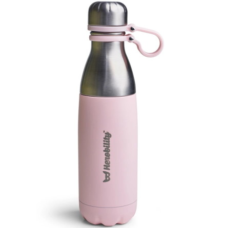 Herobility To Go Bottle 500ml, Pink