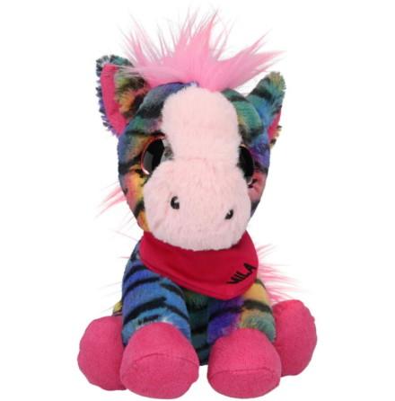 Snukis Mjukdjur 18 cm, Mila the Zebra