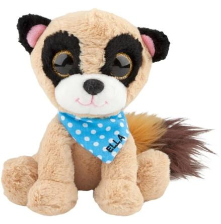 Snukis Mjukdjur 18 cm, Ella the Lemur