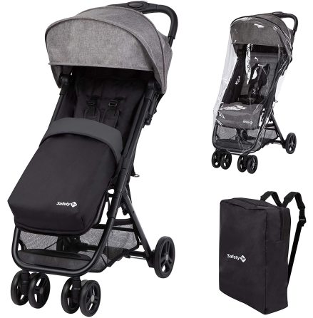 Safety 1st Teeny Comfort Pack, Black Chic