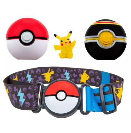 Pokémon Clip N Go Poke Ball Belt Set, Pikachu
