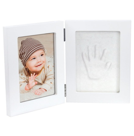 Dooky Happy Hands Double Frame White Small