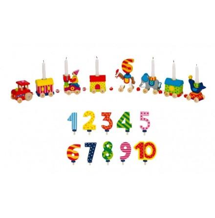 Birthday Train World of Circus