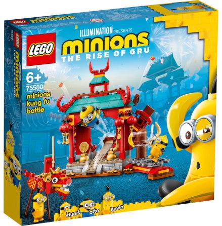 Lego Minions Minionernas kung fu-strid