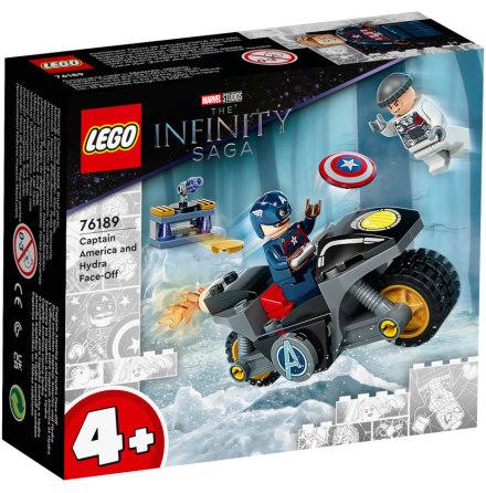 Lego Super Heroes Captain America mot Hydra