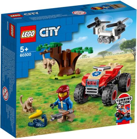 Lego City Djurräddningsfyrhjuling