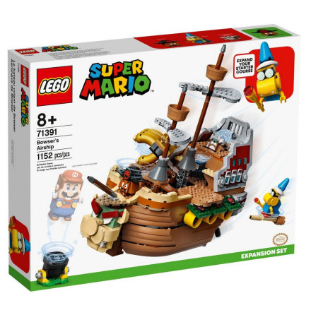 Lego Super Mario Bowsers luftskepp - Expansionsset