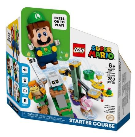 Lego Super Mario Äventyr med Luigi - Startbana