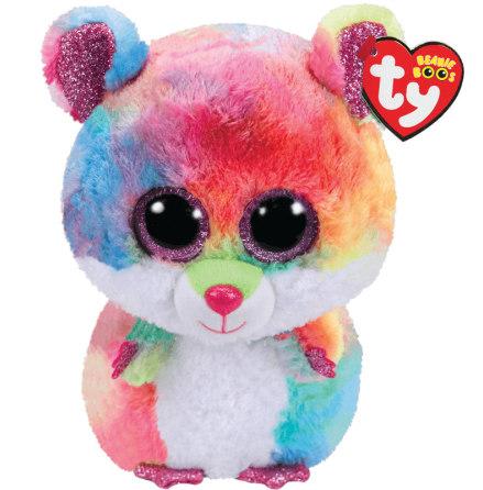 TY Beanie Boo's Rodney Flerfärgad Hamster