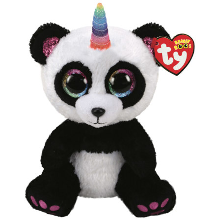 TY Beanie Boo's Paris Panda med Horn