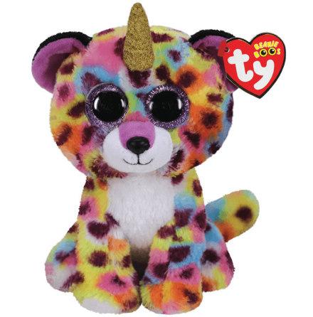 TY Beanie Boo's Giselle Regnbågs Leopard med Horn