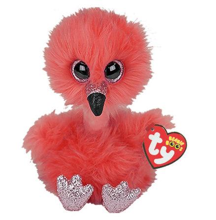 TY Beanie Boo's Franny Flamingo Lång Nacke