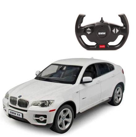 Rastar BMW X6, Vit R/C