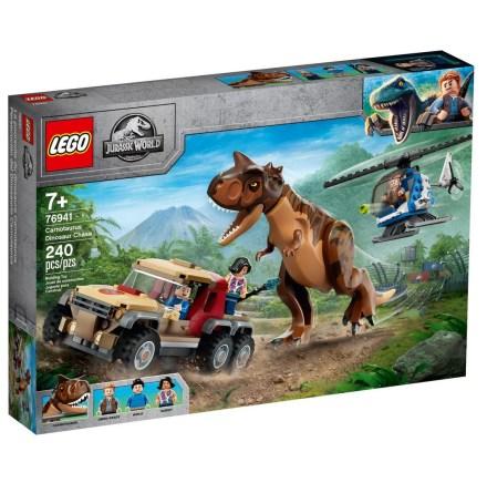 Lego Jurassic World Dinosauriejakt med Carnotaurus