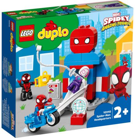 Lgo Duplo Spider-Mans högkvarter