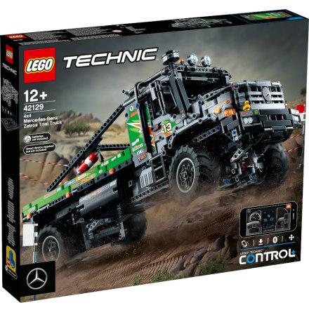 Lego Technic Mercedes-Benz Zetros fyrhjulsdriven terränglastbil