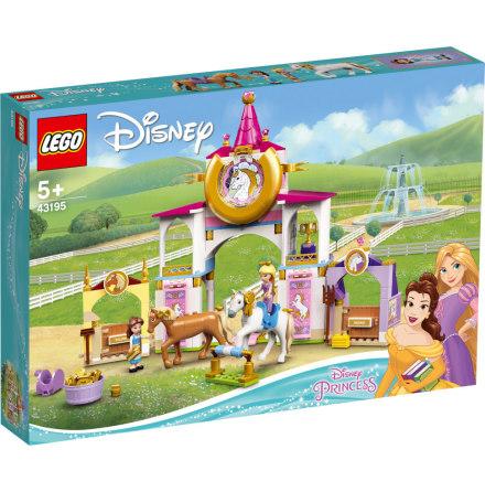 Lego Disney Belle och Rapunzels kungliga stall