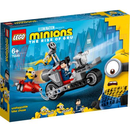 Lego Minions Ostoppbar cykeljakt