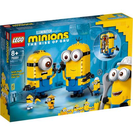 Lego Minions Klossbyggda minioner och deras tillhåll