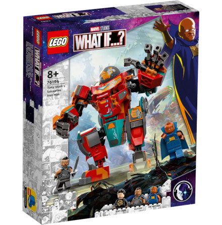 Lego Super Heroes Tony Starks sakaariska Iron Man
