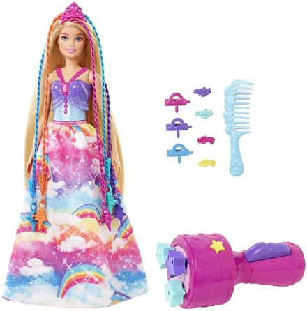 Barbie Dreamtopia Princess Hairstyling Doll