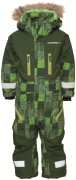 Kilimanjaro m�nstrad overall, Green Quilt