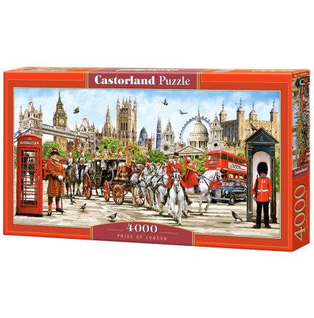 Pride of London, Pussel, 4000 bitar