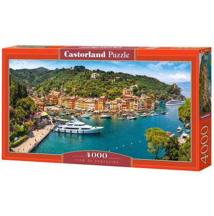 View of Portofino, Pussel, 4000 bitar