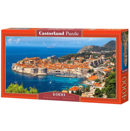 Dubrovnik, Croatia, Pussel, 4000 bitar