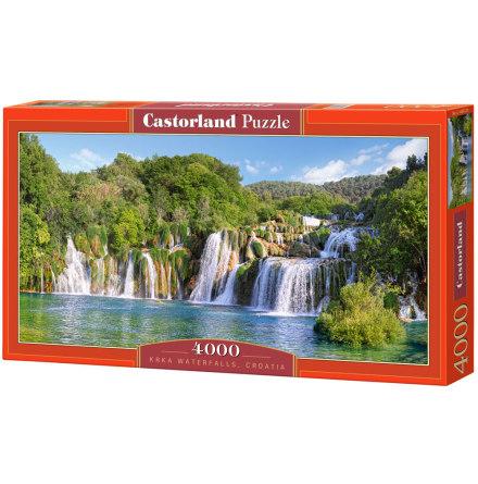 Krka Waterfalls, Croatia, Pussel, 4000 bitar