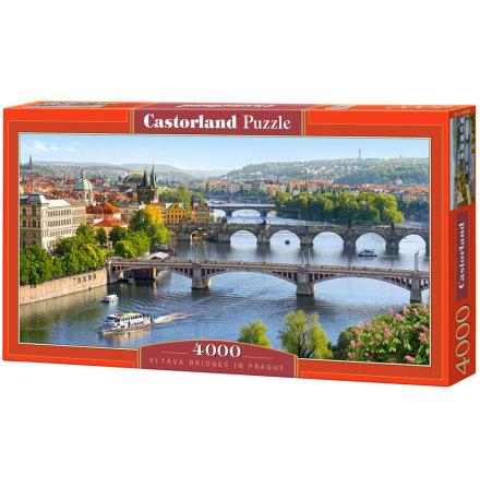 Vltava Bridges in Prague, Pussel, 4000 bitar