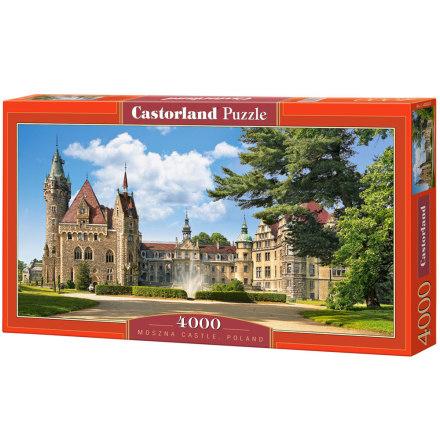 Moszna Castle, Poland, Pussel, 4000 bitar