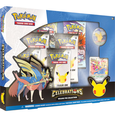 Pokémon Deluxe Pin Collection 25th Anniversary
