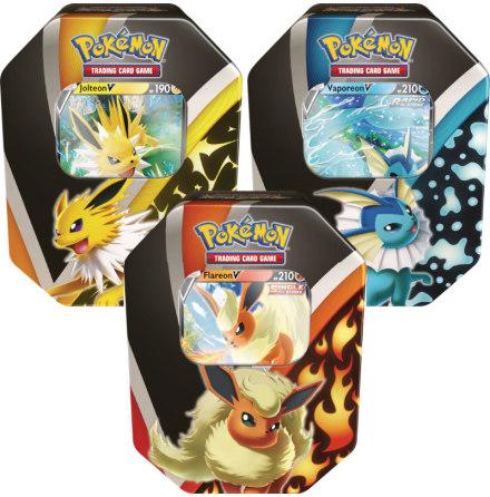Pokémon Eevee Evolutions Tin (1 låda)