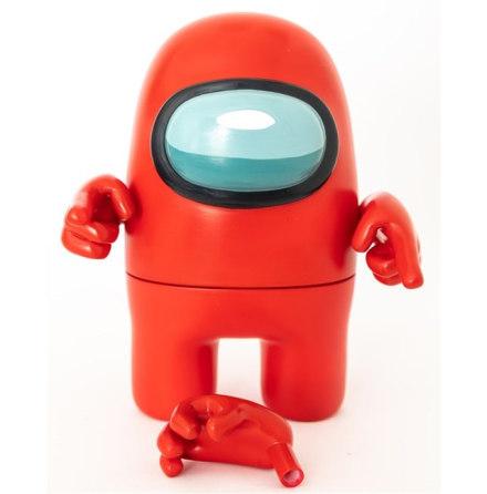 Among Us Actionfigur 17cm, Röd